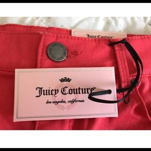 Juicy Couture Shorts - Juicy Couture 💜💜SZ 2 Shorts Cayenne Coral NWT